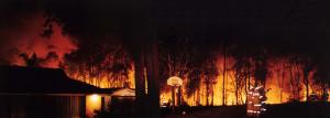 Back Burn 2001 Fires